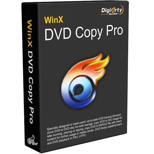 WinX DVD Copy Pro 3.9.3 Crack & Serial Key 2020 [Updated]