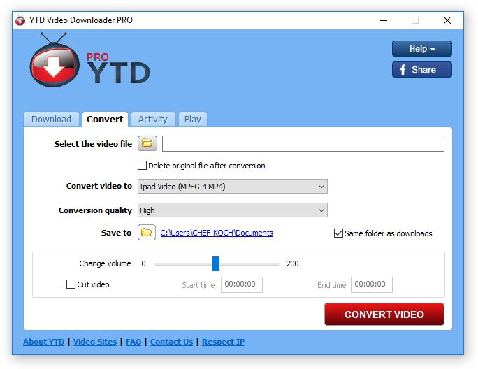 YTD Video Downloader Pro Serial Number