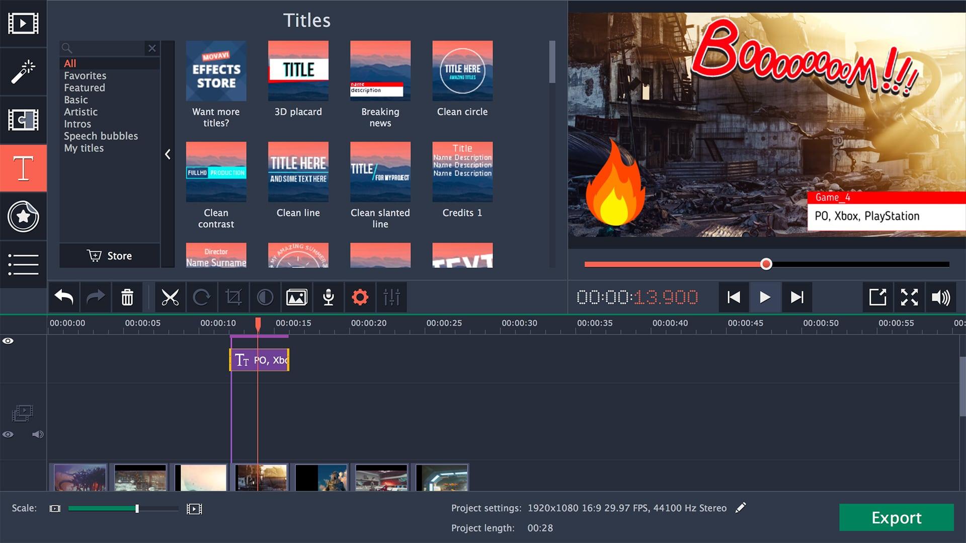 Movavi Video Editor Registration Key