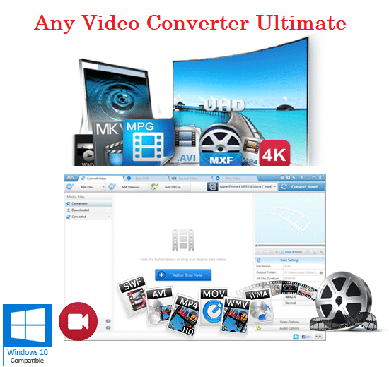 Any Video Converter Ultimate 6.3.3 Crack