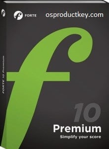 Forte Notation FORTE 10 Premium 10.2.0 With Crack + Serial Key