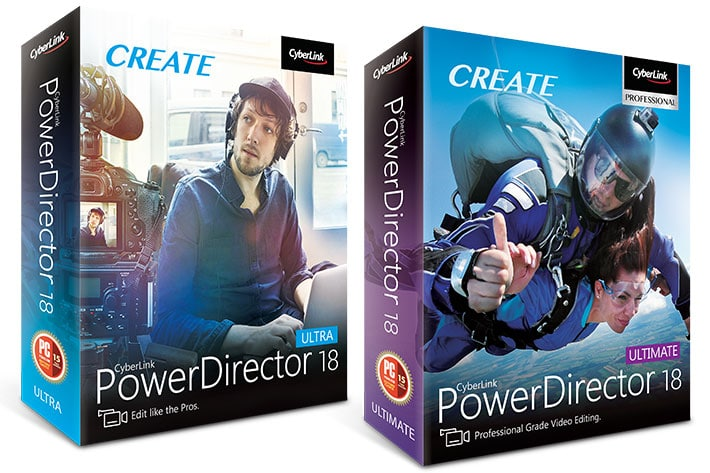CyberLink PowerDirector 18.0.2725.0 Crack Full Ultimate Download